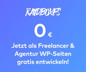 Wordpress Empfehlung