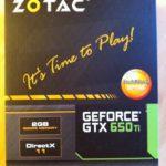 Zotac NVIDIA GTX 650 TI 1